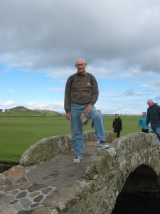 "18th hole, St. Andrews ""Auld Course"""